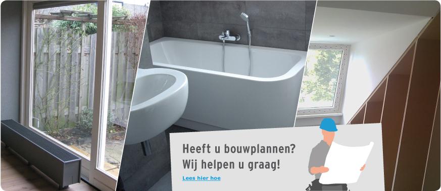 Heeft u bouwplannen? Wij helpen u graag!